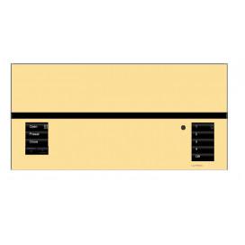 Placa GrafikEyeQS 1 Shade Metales con grabado
