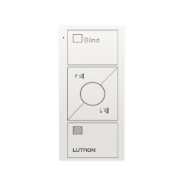 Control Lutron Pico wireless (grabado blind text) 3 Botones + RL