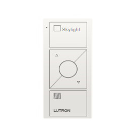 Control Lutron Pico wireless (grabado Skylight text) 3 Botones + RL