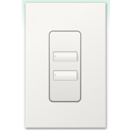 Botonera Lutron Homeworks QS inalambrica 2 botones