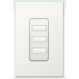 Botonera Lutron Homeworks QS inalambrica 3 botones