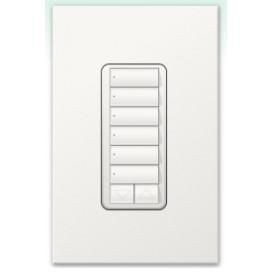 Botonera Lutron Homeworks QS inalambrica 6 botones con R/L