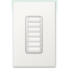 Botonera Homeworks QS inalambrica 7 botones
