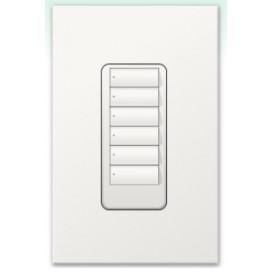 Botonera Homeworks cableada 6 botones