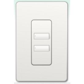 Botonera Homeworks QS inalambrica 2 botones