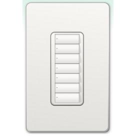 Botonera Lutron Homeworks QS inalambrica 7 botones