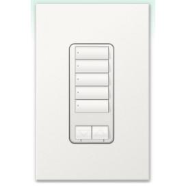 Botonera Homeworks 5 botones con R/L y atenuador de 450W