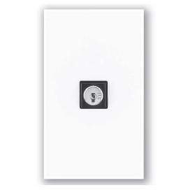 Interruptor de llave QSWS2 3 posiciones momentaneo sin insert WH