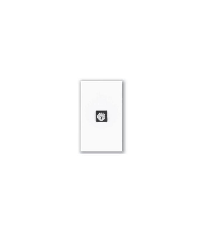 Interruptor de llave Lutron QSWS2 3 posiciones momentaneo sin insert WH