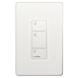Control Pico cableado (grabado iconos light) 3 Botones