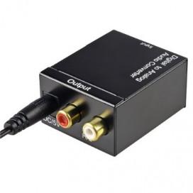 Convertidor Optico y Coaxial a Audio RCA Análogo