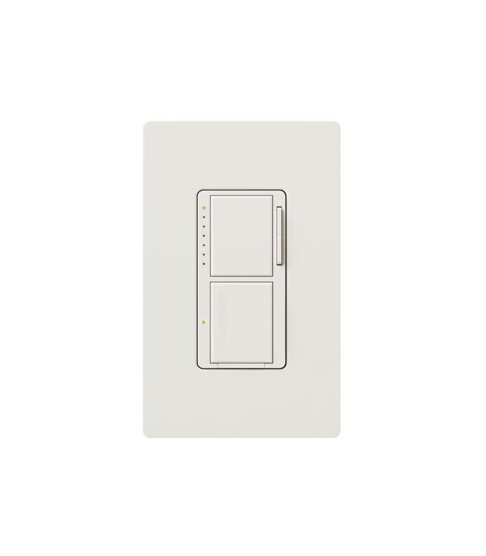 Lutron MAESTRO Dual Atenuador/Interruptor Blanco en Empaque blister
