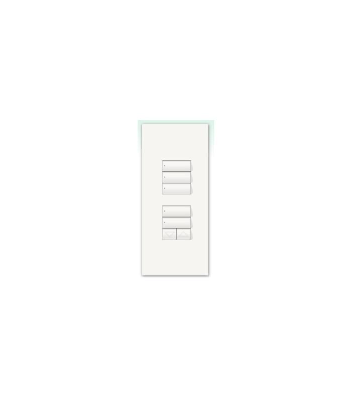 Kit para botonera Architrave 3 botones + 2 botones y RL