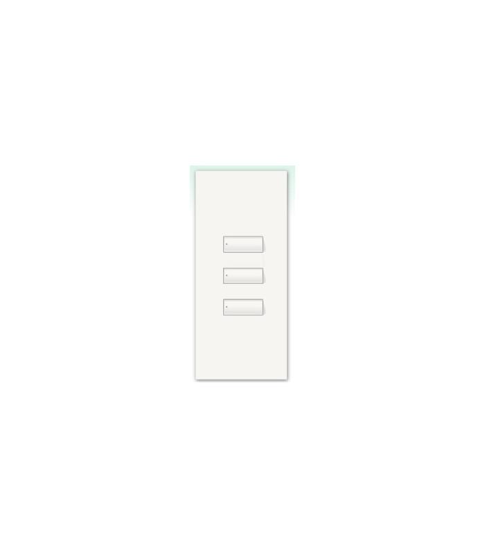 Kit para botonera Architrave 3 botones