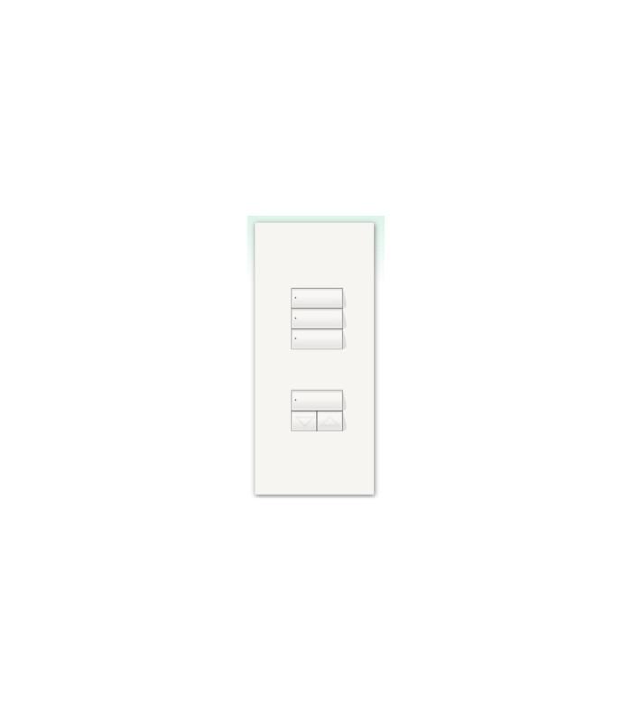Kit para botonera Architrave 4 botones