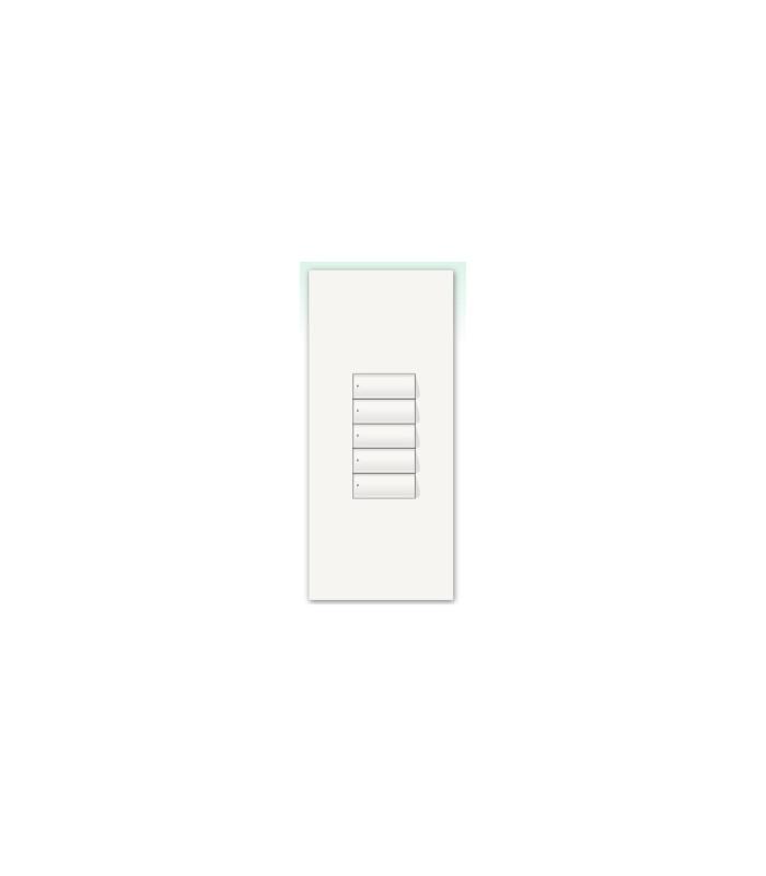 Kit para botonera Architrave 5 botones