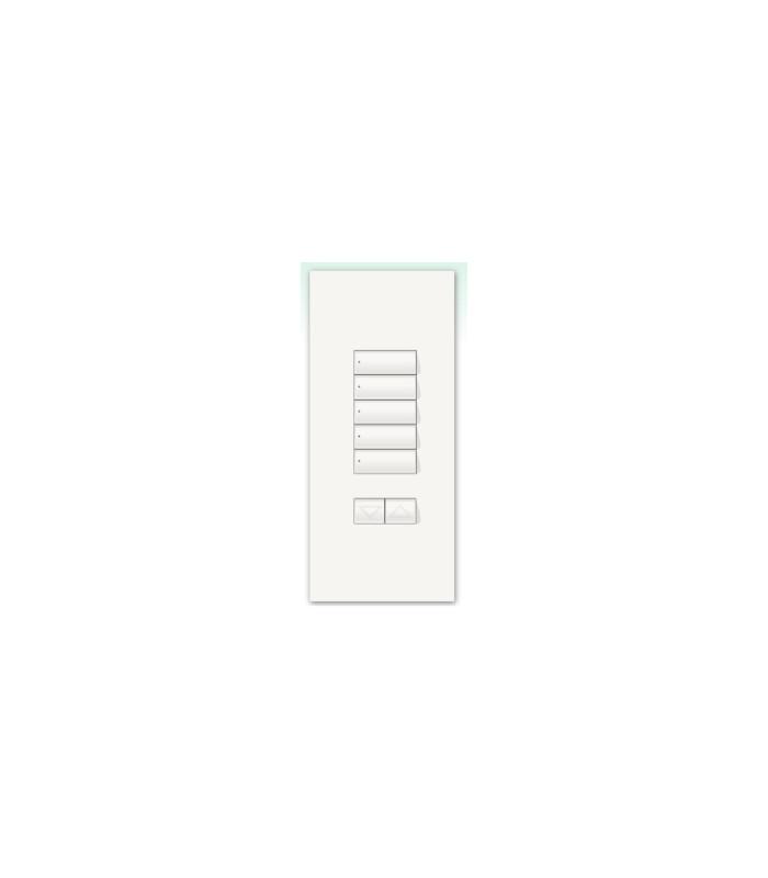 Kit para botonera Architrave 5 botones + RL