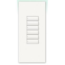 Kit para botonera Architrave 6 botones