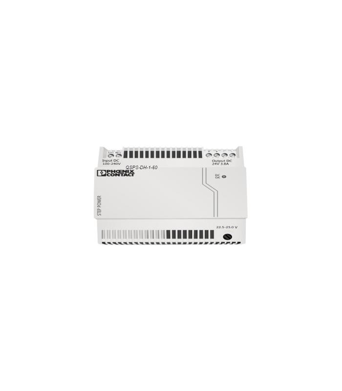 fuente de alimentación 24VDC de carril para procesadores y enlaces 2,5 Amp