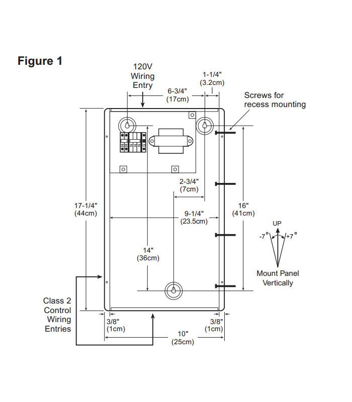 17? Low-voltage enclosure
