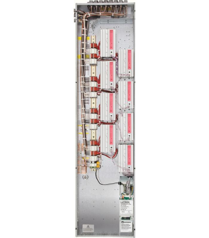 """Feedthrough panel - 8 module 59"""" enclosure"""