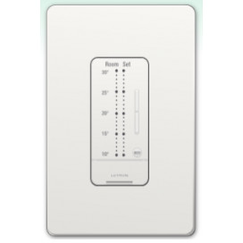 Control de pared seeTemp Estilo design para Termostato Lutron (Celsius) Colores Gloss