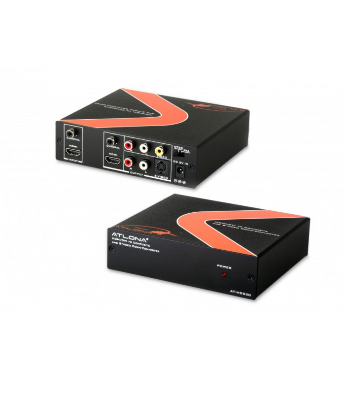 Convertidor HDMI a Compuesto/S-Video