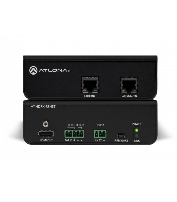Receptor HDMI con IR, RS232 y Ethernet