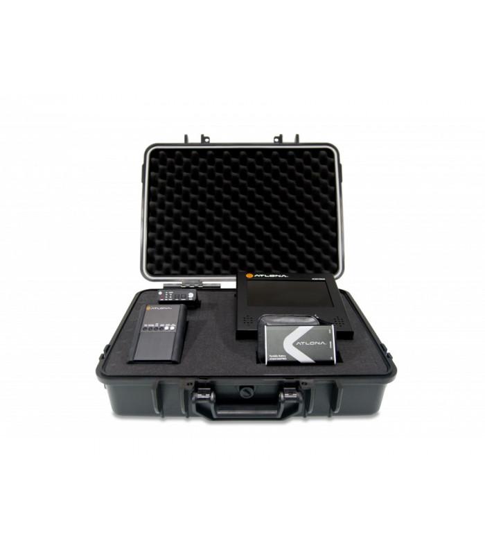 Kit para testeo con AT-DIS7-PROHD, AT-HD800, HDSync y Batería