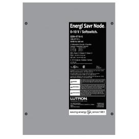 Tablero Lutron Energi Savr Node 4 zonas 0-10V 16A