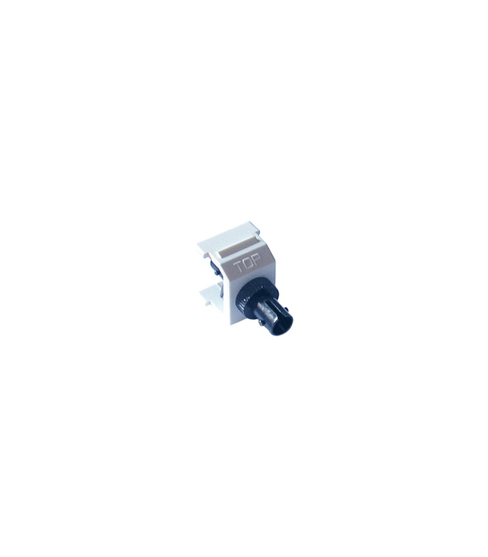 Conector ST STYLE FIBER JACK LUTRON Color WH