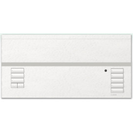 Lutron Grafik Eye 6 zonas 1 zona de cortina color blanco