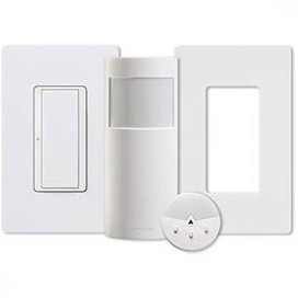 ENERGY RETROFIT KIT Interruptor RF + Sensor de pared + Control remoto + placa de pared