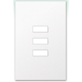 Placa de vidrio para botonera W3SN