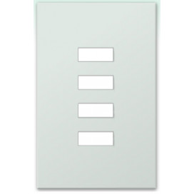 Placa de vidrio para botonera W4SN