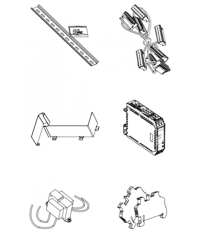 Interfaz de comunicaciones y hardware de montaje