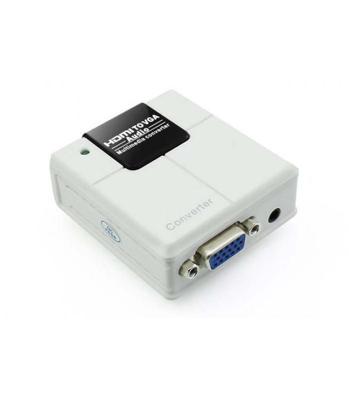 CONVERTIDOR HDMI A VGA + AUDIO