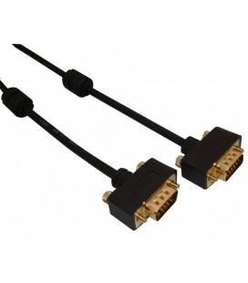 Cable macho - macho VGA ultradelgado 1 Mts.