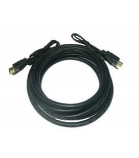 Cables HDMI SOLIDVIEW + mini plug de audio estereo de 3.5 4.5 Mts.