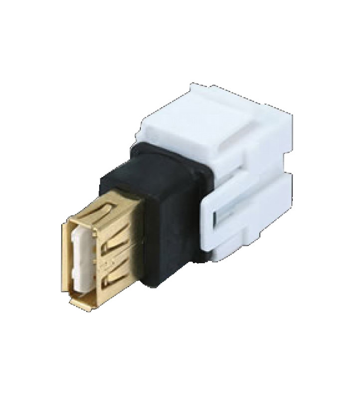 Keystone Jack USB 2.0 Tipo A Keystone Jack USB 2.0 Tipo A
