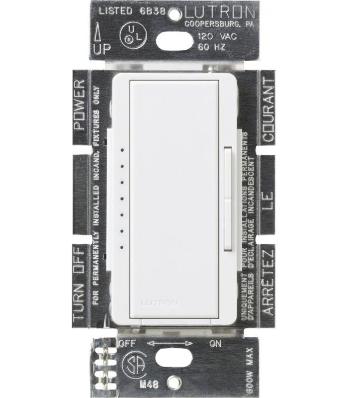 Atenuador/Dimmer Lutron MAESTRO CFL/LED Conmutable 600W