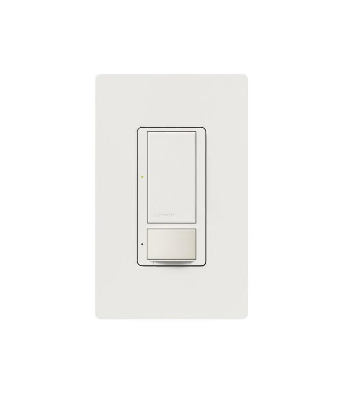Sensor Interruptor Vacancia Lutron MAESTRO 600W/3Vias Colores Satin