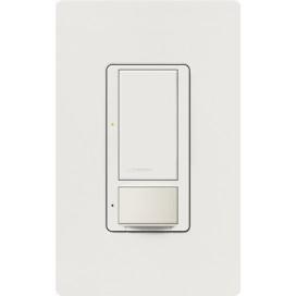 Sensor Interruptor Vacancia MAESTRO 6A Voltaje dual Colores Satin