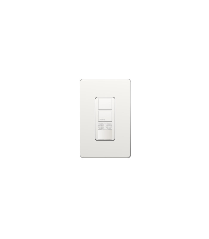 Sensor Interruptor Dual Lutron MAESTRO Ultrasonido Colores Brillantes