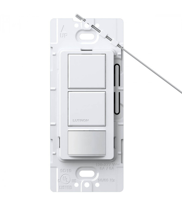 Sensor Interruptor Dual Lutron MAESTRO 6A Colores Brillantes