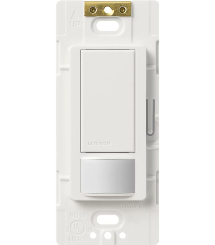 Sensor Interruptor Vacancia Lutron MAESTRO 250W Colores Brillantes