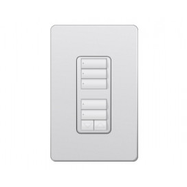 Control de Pared con R/L RadioRA2 Colores Satin