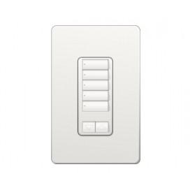 Control de Pared 5 Botones con R/L RadioRA2 Colores Brillantes
