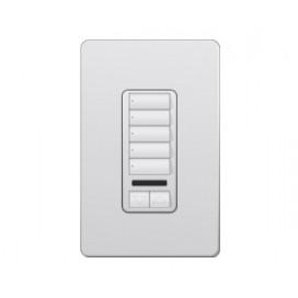 Control de Pared 5 Botones con con R/L+IR RadioRA2 Colores Satin