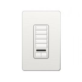 Control de Pared 5 Botones con con R/L+IR RadioRA2 Colores Brillantes